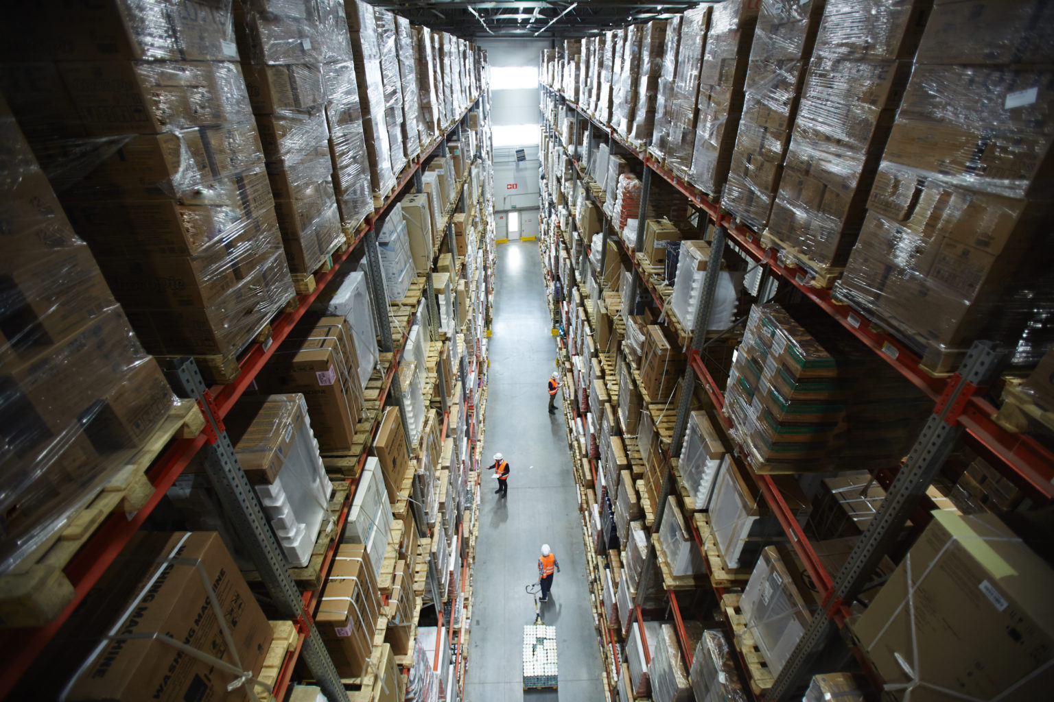 The existing warehouse was too small and had no opportunities for growth...